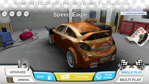 Armored Car HD (Racing Game)  screenshots 6