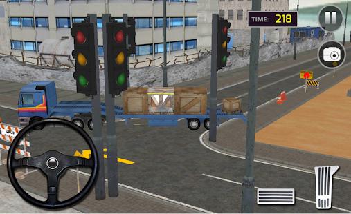 cargo kamion přepravce: vidle - náhled