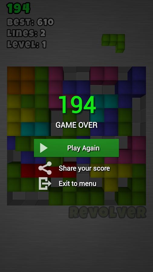 TetroCrate: Brick Game - screenshot
