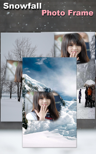 Snow Photo Frame