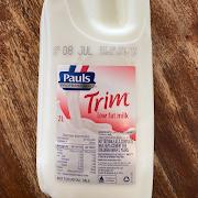 2L skim milk