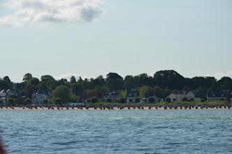 Photo: Strand Laboe vanaf zee gezien
