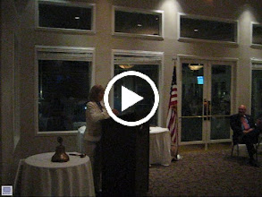 Video: Assistant District Governor Karen Weiss presenting a PAUL HARRIS PIN to Ruth Swanto for being a Paul Harris Fellow three times! - June 8, 2012