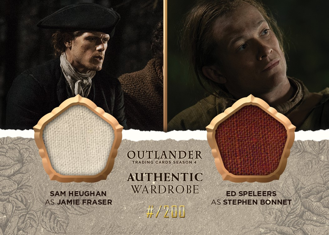 Outlander Trading Cards Season 4: Convention Wardrobe Cards CE2