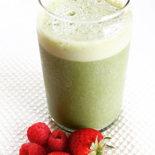Green Breakfast Smoothie.