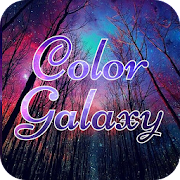 Color Galaxy Font for FlipFont , Cool Fonts Text‏