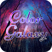 Color Galaxy Font for FlipFont , Cool Fonts Text