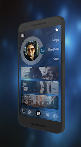 android Curval Wave for KLWP Screenshot 3