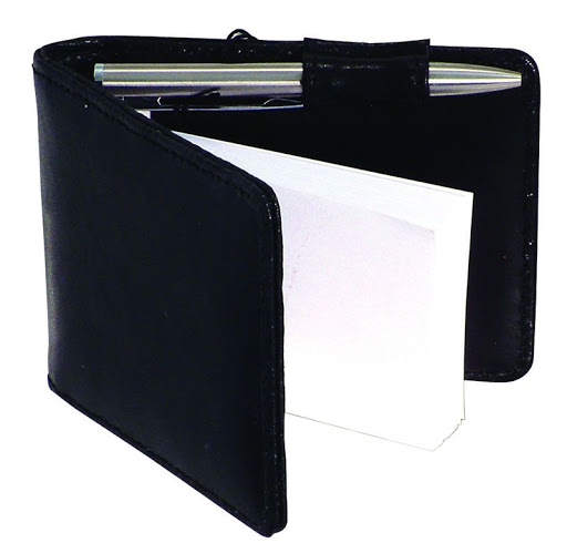 Promotional Leather Notebook & Pen Set