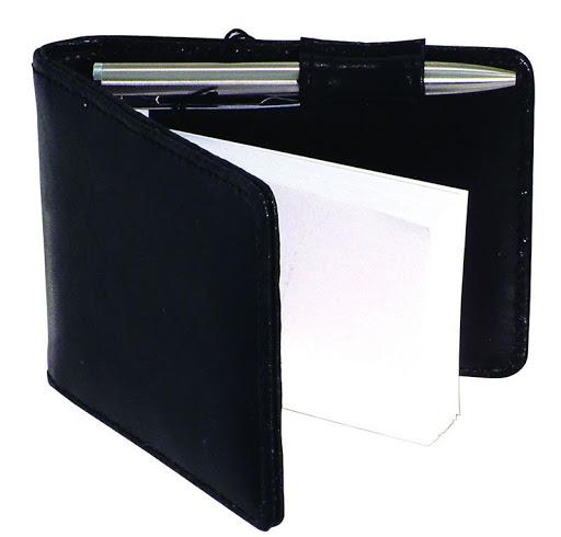 Promotional Leather Notebook & Pen Set