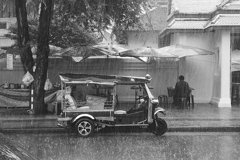 Pausa sotto il diluvio di Luca Mandelli