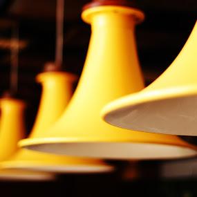 lamp by Bobby Dozan - Artistic Objects Furniture ( interior, bali, lamp, travel, yellow, furniture, potato head )