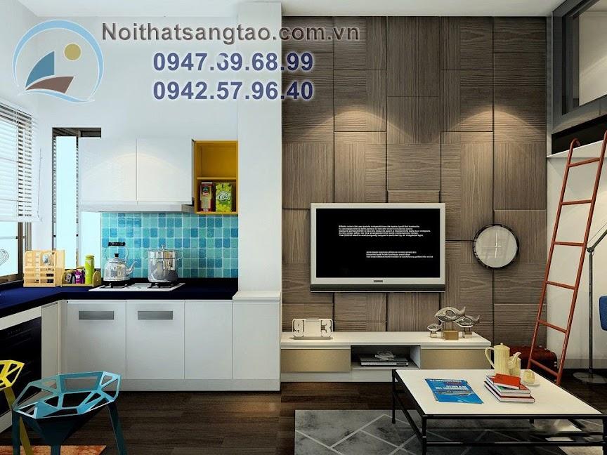 thiết kế căn hộ chung cư nhỏ