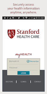 Stanford Health Care MyHealth- screenshot thumbnail