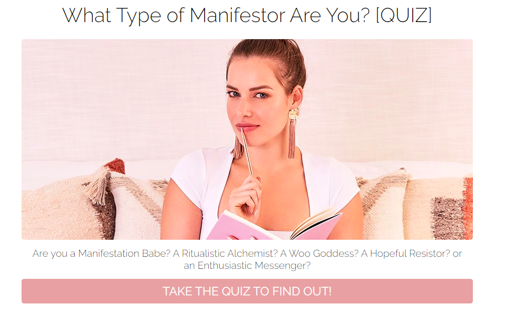 What type of manifestor are you quiz cover