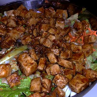 Braised Tofu Salad