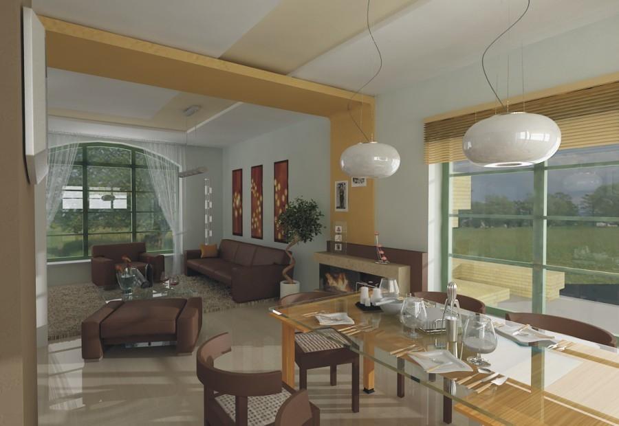 Projekt domu Lawenda wersja A (TQK-651) - 172.7m²
