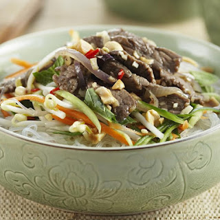 Lemongrass Beef with Vermicelli.