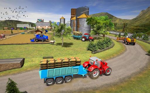 Farming Simulator Game 2018 u2013 Real Tractor Drive 1.4 screenshots 8