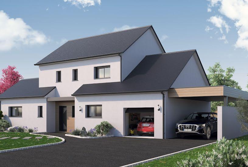 Vente Terrain + Maison - Terrain : 600m² - Maison : 145m² à Sonzay (37360)