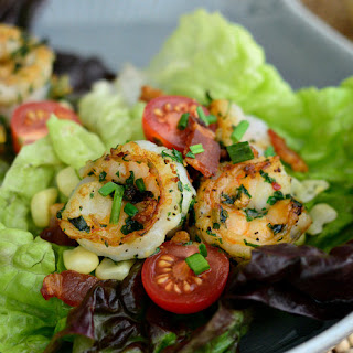 Herb-Crusted Shrimp Lettuce Wraps