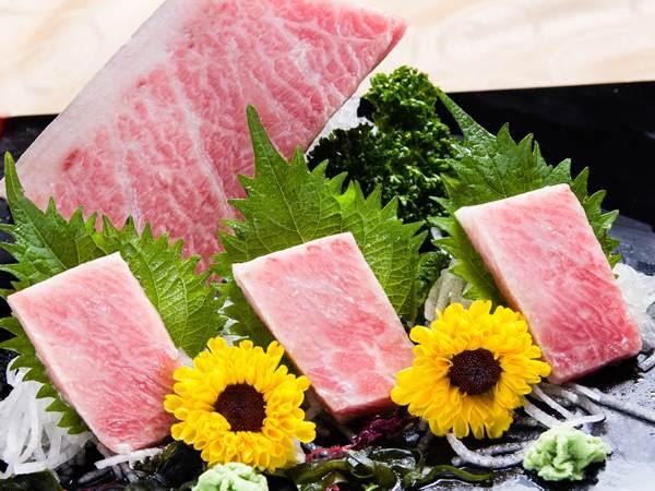 大Toro生魚片