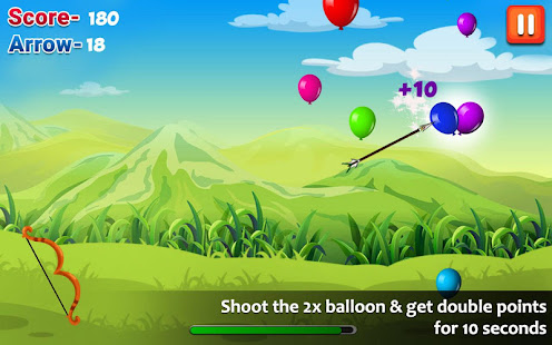 Balloon Shooting : Smash Hit The Rising Up Balloon - náhled