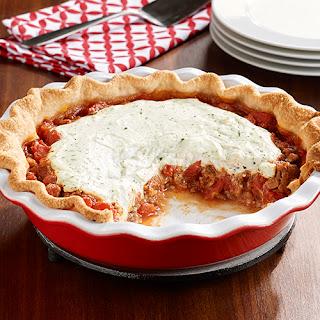 Deep Dish Lasagna Pie