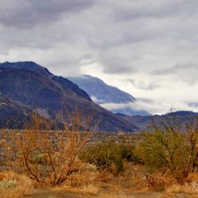 Desert Mountain Landscape by Amada Gonzalez - Landscapes Mountains & Hills ( death valley, mountains, desert, travel, landscapes )