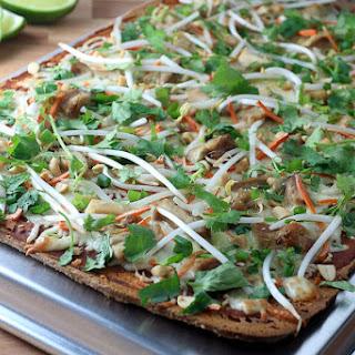 Thai Chicken Flatbread Pizza Recipes
