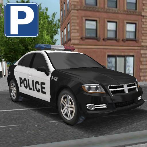 模擬App|警察の車の駐車シミュレータ LOGO-3C達人阿輝的APP