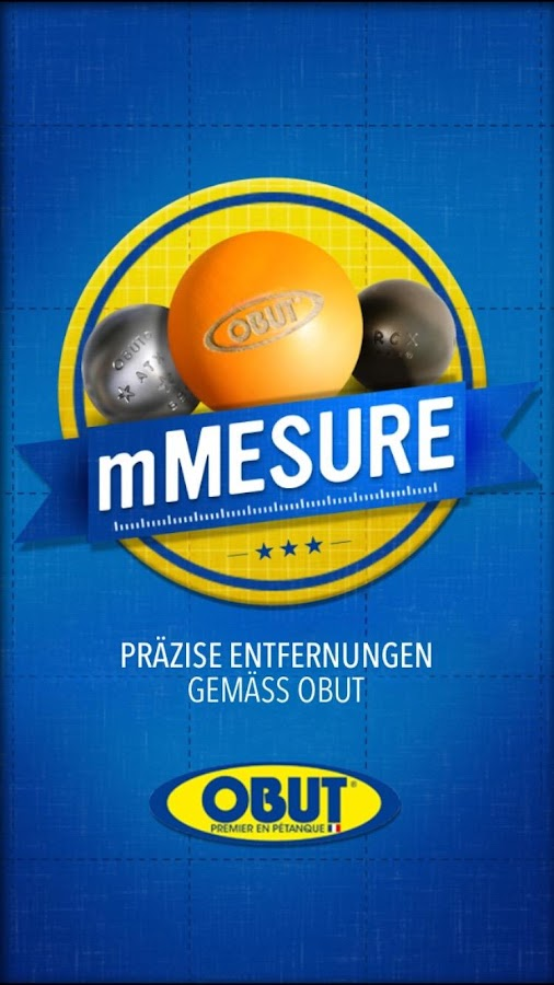 mMesure – Screenshot