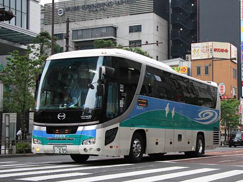 徳島バス「エディ号」吉野川系統 ・205