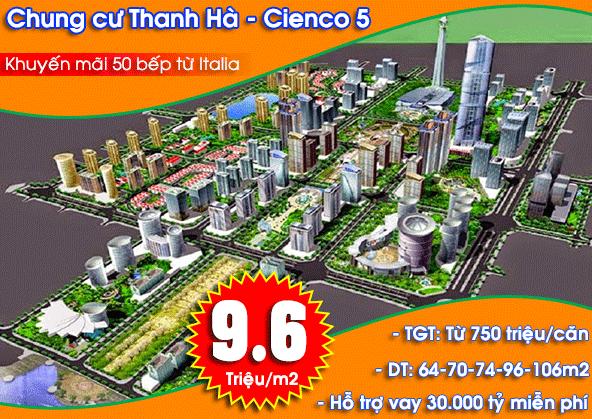 Chung cư Thanh Hà Cienco 5