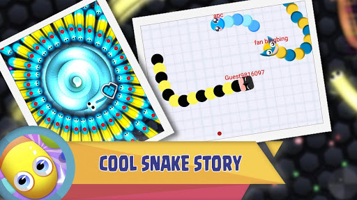 Worm Zone ud83dude0d Snake Zone IO Cacing Ular Game  screenshots 2