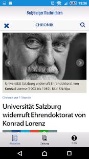 Salzburger Nachrichten - náhled