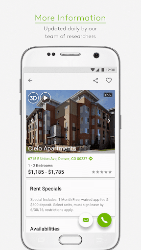 Apartments.com Rental Search screenshot