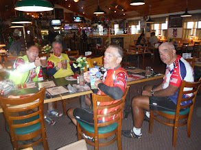 Photo: Jackson Hole to Dubois, on 10 mile downhill, caught in thunder shower, took refuge, at the Mt Lava Reataurant