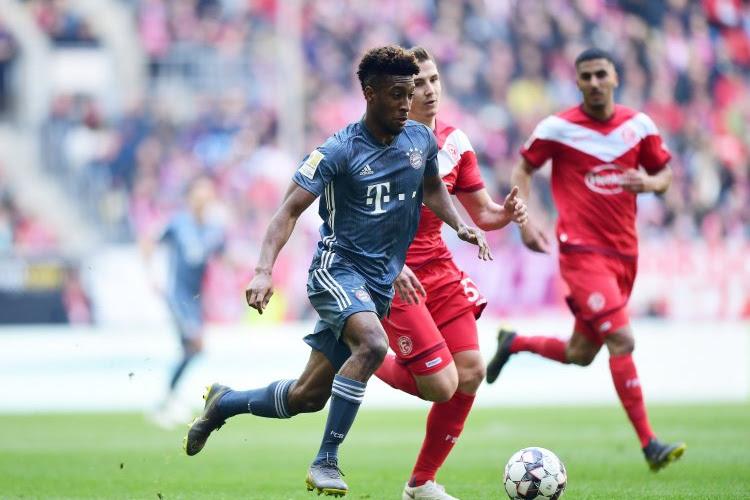 Kingley Coman absent plus longtemps que prévu du côté du Bayern