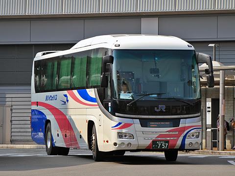 西日本JRバス「北陸ドリーム四国号」 金沢・797 高知駅バスターミナル到着_01