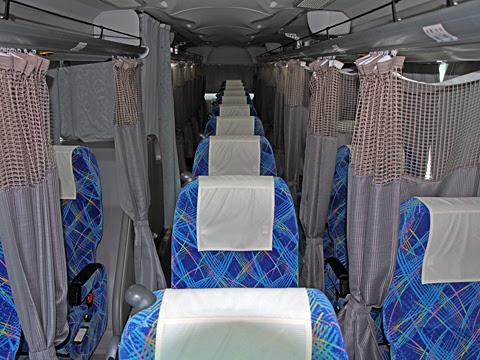 明光バス「ホワイトビーチシャトル」 ・602 車内