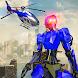 警察戦争ロボットスーパーヒーロー:飛行ロボットゲーム - Androidアプリ
