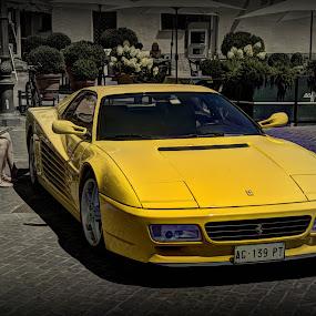 Ferrari Testarossa by Doug Faraday-Reeves - Transportation Automobiles ( testarossa, classic car, ferrari, italian )