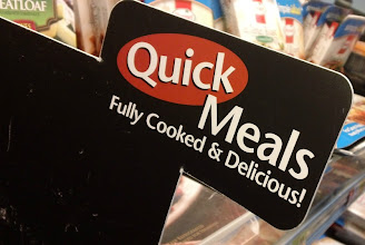 """Photo: The Tyson refrigerated strips were easy to find. They were in a special section for """"Quick Meals""""."""