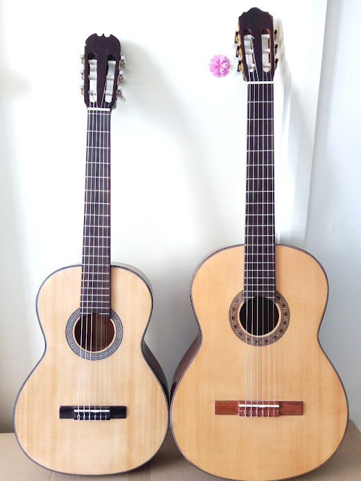 Classic guitar trẻ em size 3/4, guitar mini