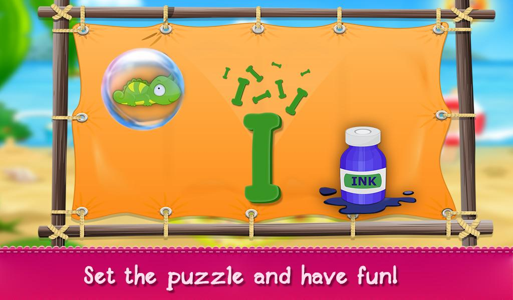 Learning Alphabets & Numbers- screenshot