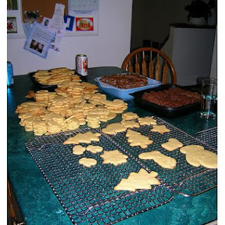Gingerbread Teddy Bear Cookies