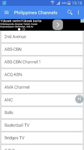 Philippines TV Channels