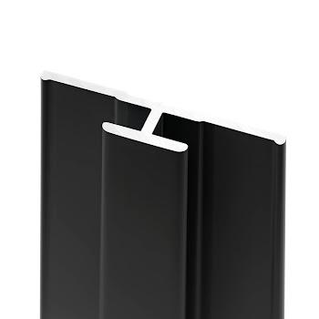 DecoDesign - Zubehör Profil - Flächenverbinder - Schwarz (68), Länge 2550 mm