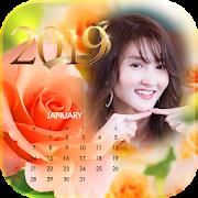 Calendar For 2019 In Flat Design - Calendar 2019